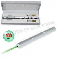 Ucuz Promosyon 100 Mw Yeşil Lazer Pointer Tek Başlıklı GLP7513-100
