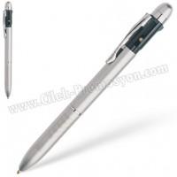Ucuz Promosyon 3 Fonksiyonlu Akıllı Metal Kalem GKF7123