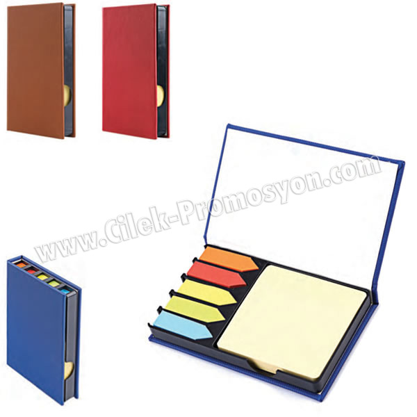 Ucuz Promosyon 5 Renkli Yapışkan Notluk Seti Notluklu AMG13003