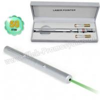 Ucuz Promosyon 50 Mw Yeşil Lazer Pointer Tek Başlıklı GLP7513-50