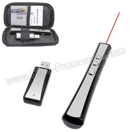 Ucuz Promosyon 8 GB Usb Flash Bellek ve Lazer Pointerli Sunum Kalemi GBA3109-F8