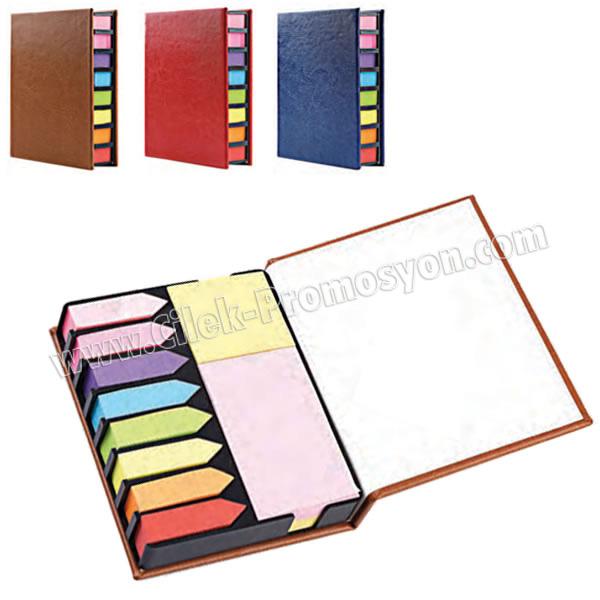 Ucuz Promosyon 8 Renkli Yapışkan Notluk Seti Notluklar AMG13001