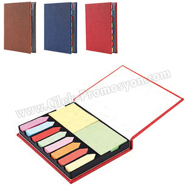 Ucuz Promosyon 8 Renkli Yapışkan Notluk Seti Notluklar AMG13002