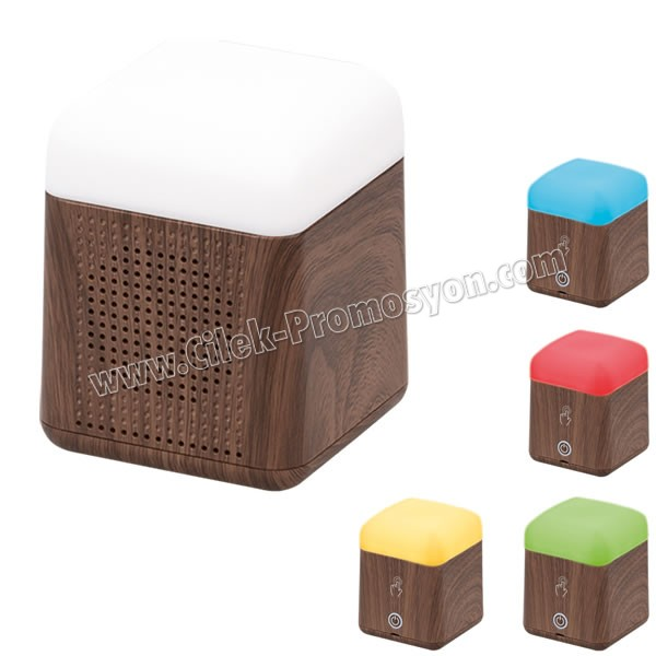 Ucuz Promosyon Bluetooth Hoparlör Renkli Işıklı AD3779