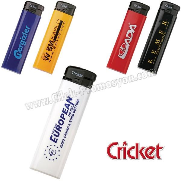 Ucuz Promosyon Cricket Çakmak - Manyetolu Sibopsuz ACK5286-M