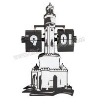 Ucuz Promosyon Dekoratif İzmir Saat Yaprak Mekanizmalı AS20543