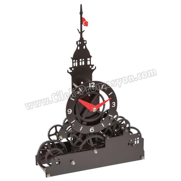 Ucuz Promosyon Dekoratif Kız Kulesi Saat AS20542