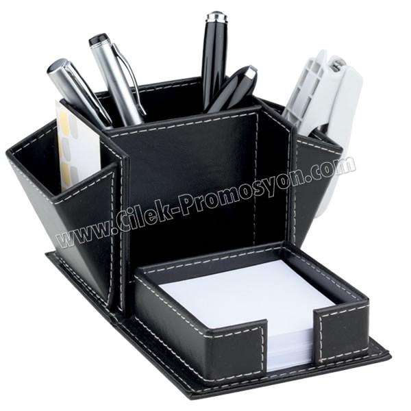 Ucuz Promosyon Deri Kalemlik Organizer AMG13049