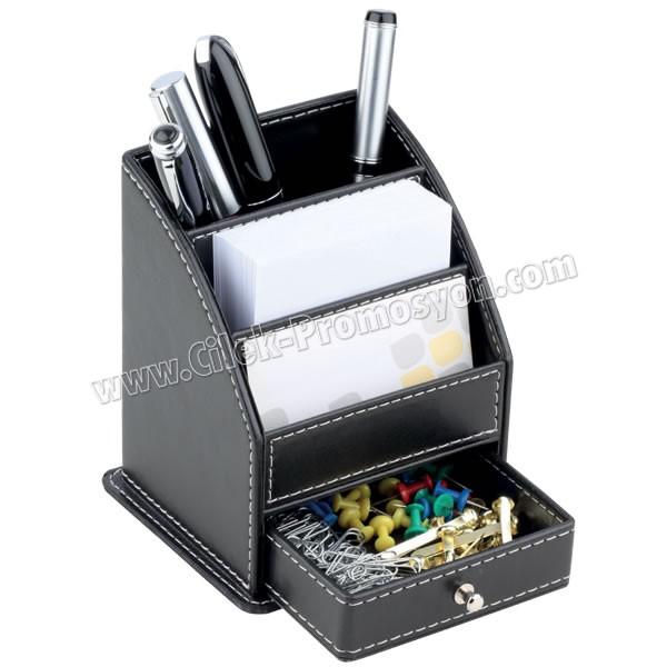 Ucuz Promosyon Deri Kalemlik Organizer AMG13056