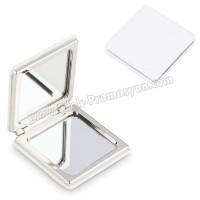 Ucuz Promosyon Deri Metal Makyaj Aynası Büyüteçli AAM10128