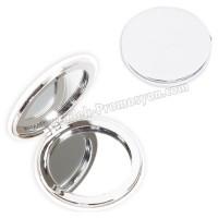 Ucuz Promosyon Deri Metal Makyaj Aynası Büyüteçli AAM10129