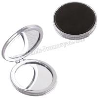 Ucuz Promosyon Deri Metal Makyaj Aynası Büyüteçli AAM10141