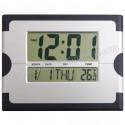 Toptan Ucuz Promosyon Dijital Duvar Saati Takvim ve Termometreli GDS793