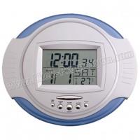 Ucuz Promosyon Dijital Duvar Saati Takvim ve Termometreli GDS795