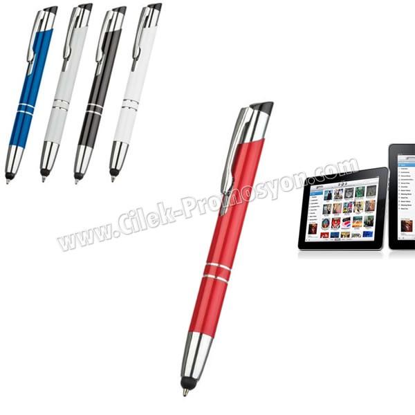 Ucuz Promosyon Dokunmatik Ekran Kalemi Tükenmez AKL18007