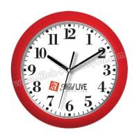 Ucuz Promosyon Duvar Saati 27,5 Cm Boyalı AS20124