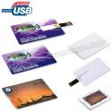 Toptan Ucuz Promosyon Flash Bellek 8 GB - Kredi Kartı Formunda AFB3266-8