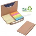Toptan Ucuz Promosyon Geri Dönüşümlü Notluk - Renkli Yapışkan Notluklu AGD8319