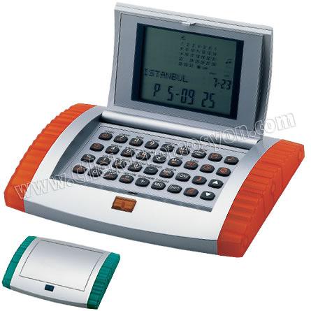 Ucuz Promosyon Hesap Makinesi - Databank Çok Fonksiyonlu GHM569