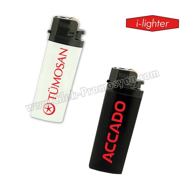 Ucuz Promosyon I-Lighter Çakmak Kısa - Taşlı Siboplu ACK5284-K