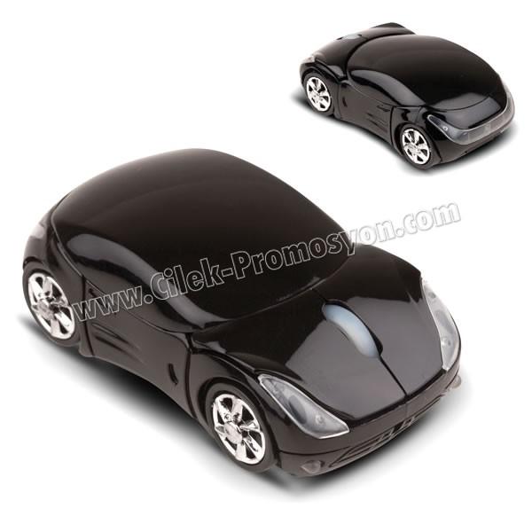 Ucuz Promosyon Kablosuz Araba Mouse ABA4115