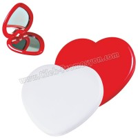 Ucuz Promosyon Kalp Makyaj Aynası Büyüteçli AAM10149