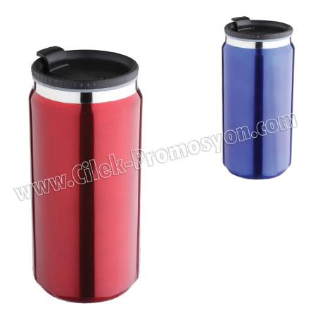Kulpsuz Thermos Mug 350 mL - Metal GTM16-3 - Ücretsiz Baskı ve Ücretsiz Kargo