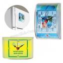 Toptan Ucuz Promosyon Magnetli Buzdolabı Saati ABS782