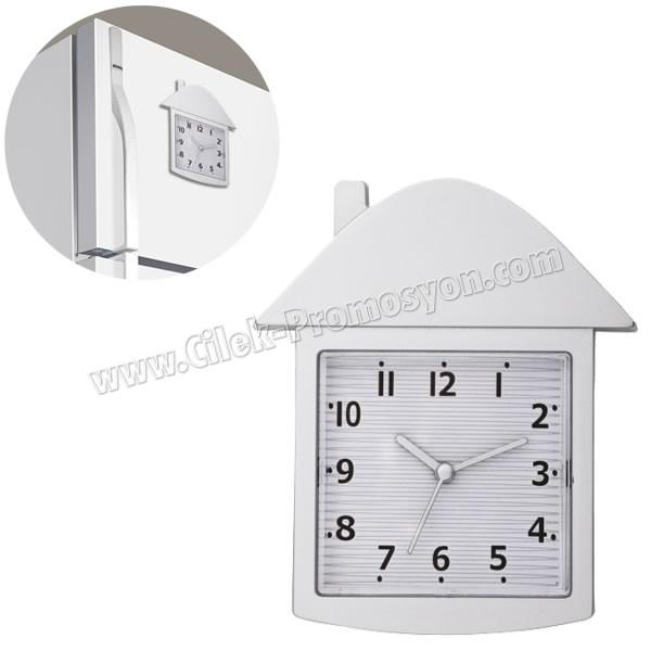 Ucuz Promosyon Magnetli Buzdolabı Saati AS20562