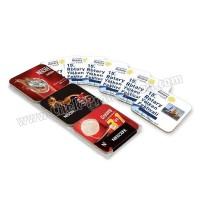 Ucuz Promosyon Mantar Bardak Altlığı - Kare 6'lı Takım AMG13105-6