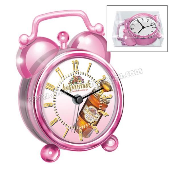 Ucuz Promosyon Masa Saati Alarmlı AMS203