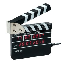 Ucuz Promosyon Klaket Temalı Dijital Masa Saati AS20503-K