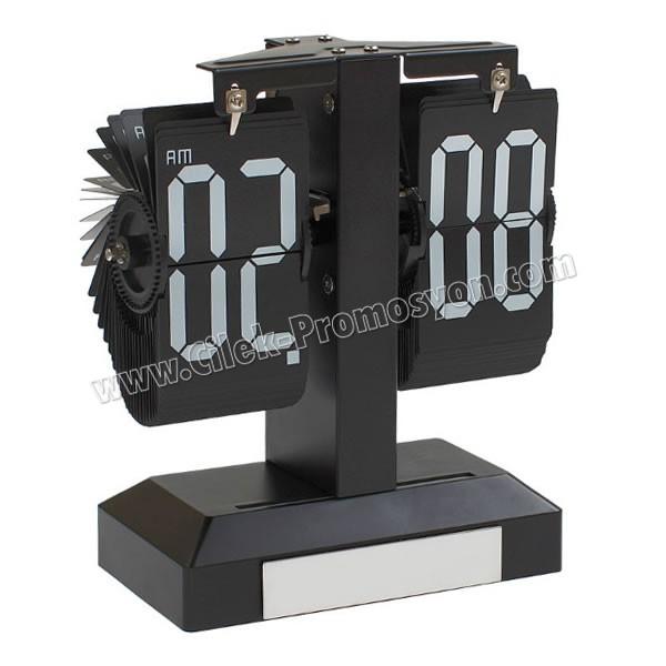 Ucuz Promosyon Masa Saati Yaprak Mekanizmalı AS20573