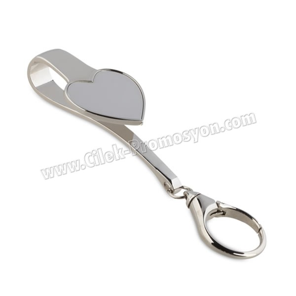 Ucuz Promosyon Metal Anahtarlık Askısı AA1605