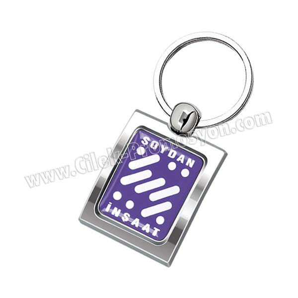 Ucuz Promosyon Metal Anahtarlık Tek Taraflı AA1571-K