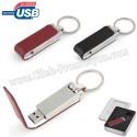 Toptan Ucuz Promosyon Metal Flash Bellek 16 GB - Deri Koruyuculu AFB3291-16