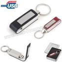 Toptan Ucuz Promosyon Metal Flash Bellek 16 GB - Deri Koruyuculu AFB3293-16