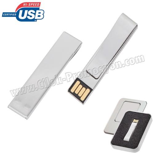 Ucuz Promosyon Metal Flash Bellek 16 GB AFB3308-16