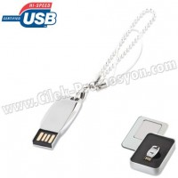 Ucuz Promosyon Metal Flash Bellek 4 GB - Bileklikli AFB3306-4