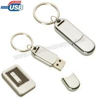 Ucuz Promosyon Metal Flash Bellek 4 GB - Anahtarlıklı AFB3309-4