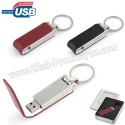 Toptan Ucuz Promosyon Metal Flash Bellek 8 GB - Deri Koruyuculu AFB3291-8