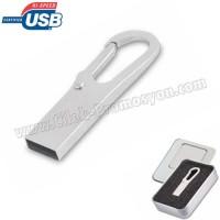 Ucuz Promosyon Metal Flash Bellek 8 GB - Anahtarlıklı AFB3276-8