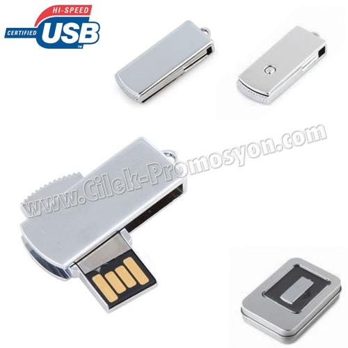 Ucuz Promosyon Metal Flash Bellek 8 GB AFB3284-8