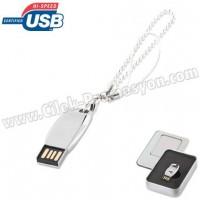 Ucuz Promosyon Metal Flash Bellek 8 GB - Bileklikli AFB3306-8