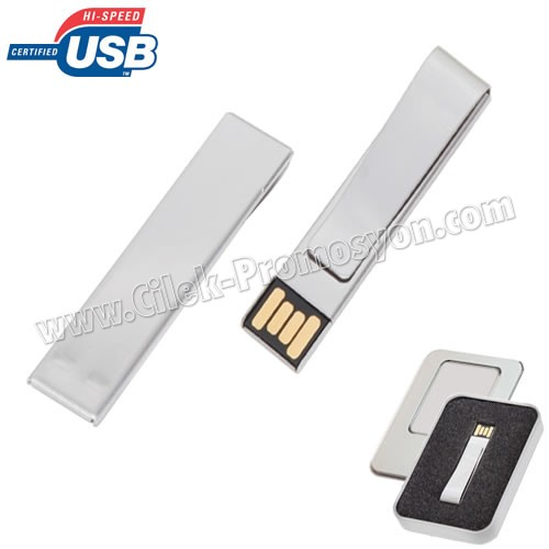 Ucuz Promosyon Metal Flash Bellek 8 GB AFB3308-8