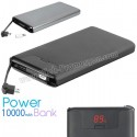 Toptan Ucuz Promosyon Metal PowerBank 10000 mAh + Android & iPhone APB3799