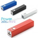 Baskılı Powerbank 2600 mAh - Metal APB3754