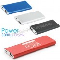 Baskılı Powerbank 3000 mAh - Metal APB3756