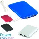 Case Power Bank 5000 mAh - 2 Çıkışlı - Metal APB3762