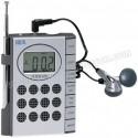 Toptan Ucuz Promosyon Mini Radyo Dijital Saatli ve Kulaklıklı GRD158